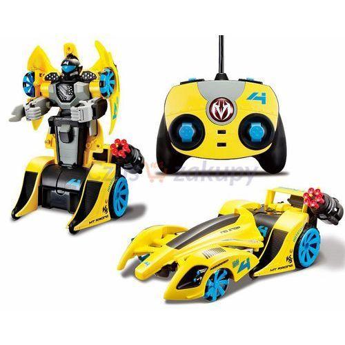 Maisto Street Troopers R/C - strzelające auto-robot - żółty