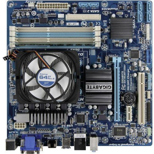 Zestaw modernizacyjny do komputera PC Renkforce Gigabyte GA-78LMT-USB3, AMD FX-4300 (4 x 3.8 GHz), 4 GB, ATI Radeon 3000, Micro-ATX, Gigabyte GA-78LMT-USB3
