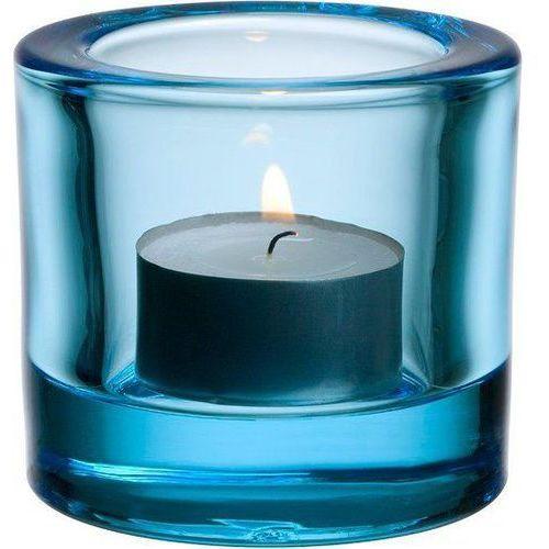 Iittala Świecznik kivi light blue
