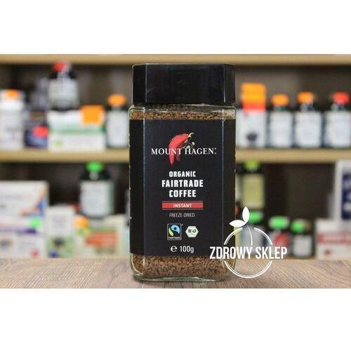 Mount hagen (kawy) Kawa rozpuszczalna fair trade bio 100 g - mount hagen