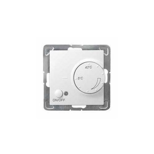 Ospel Impresja biały - regulator temperatury RTP-1Y/m/00 (5907577437800)