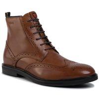 Trzewiki STRELLSON - New Harley 4010002709 Cognac 703, kolor brązowy