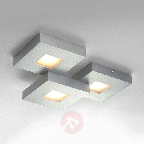 cubus lampa sufitowa led aluminium, 3-punktowe marki Bopp