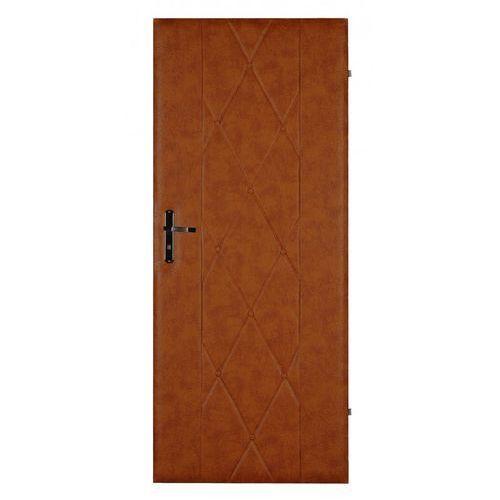 Emaga Tapicerka drzwiowa wzór: karo szerokość: 95 cm rodzaj materiału: skóropodobny