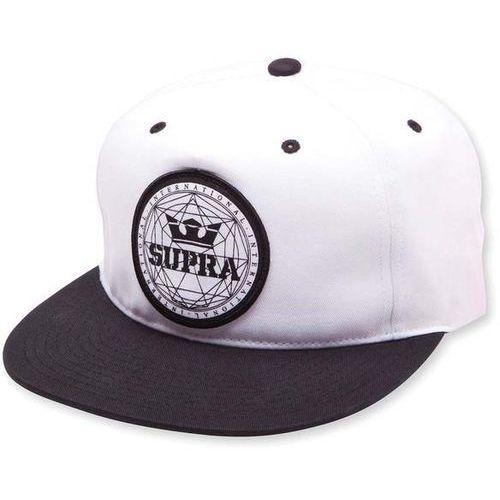 czapka z daszkiem SUPRA - Geo Patch Slider Hat Black/White (002) rozmiar: OS