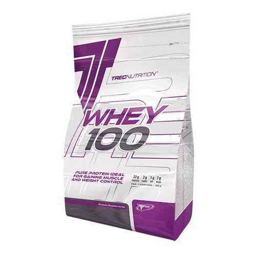 Odżywka białkowa Trec - Whey 100 - 2000g, Smaki: Czekolada kokos Najlepszy produkt (5901828348105)