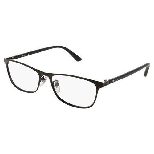 Okulary korekcyjne gg0133oj 001 marki Gucci