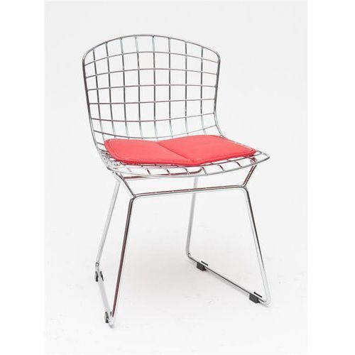 Krzesło dziecięce Harry Junior czerwona poduszka, T_89ffb8e1-7fe7-4af4-b416-bff26635d06a