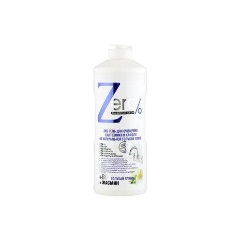 Eco żel do czyszczenia urządzeń sanitarnych i glazury - naturalna błękitna glinka + jaśmin 500ml ZERO, 4630007834450