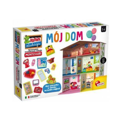 Gra edukacyjna Montessori Maxi mój dom
