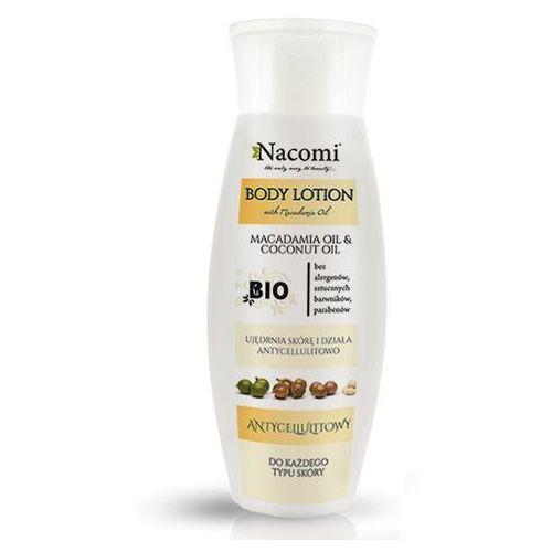 Balsam do ciała ujędrniający i antycellulitowy, makadamia i kokos, 200ml - Nacomi, NACBA100