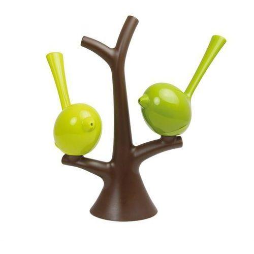 Solniczka i pieprzniczka na drzewku zielono brązowe pi:p kz-3108578 marki Koziol