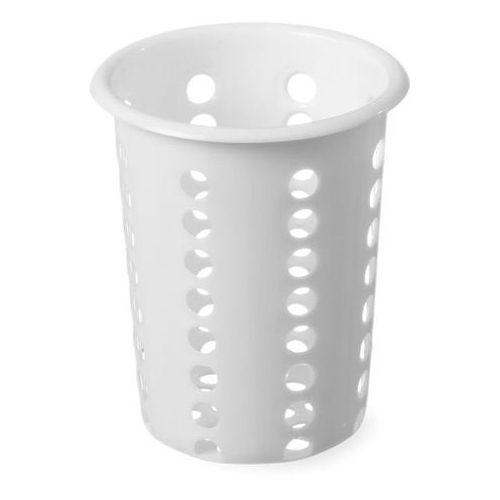 Wkład na sztućce plastikowy | śr.97x(H)137mm