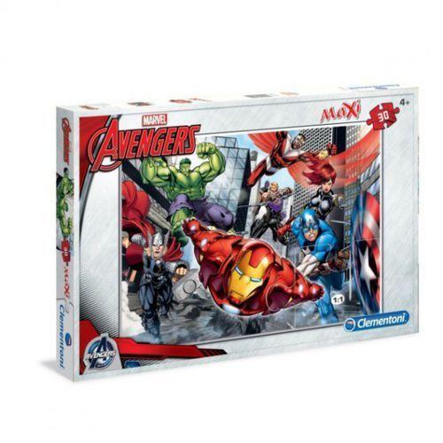 Clementoni Puzzle 30 maxi avengers (8005125074204)