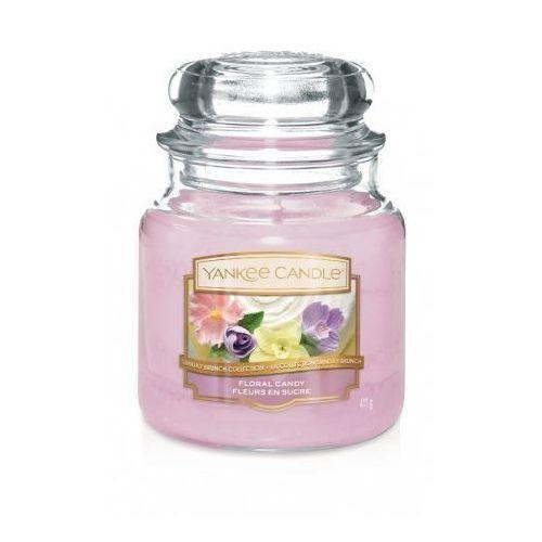 Świeca YANKEE słoik średni Floral Candy - 1611850E (5038581064147)