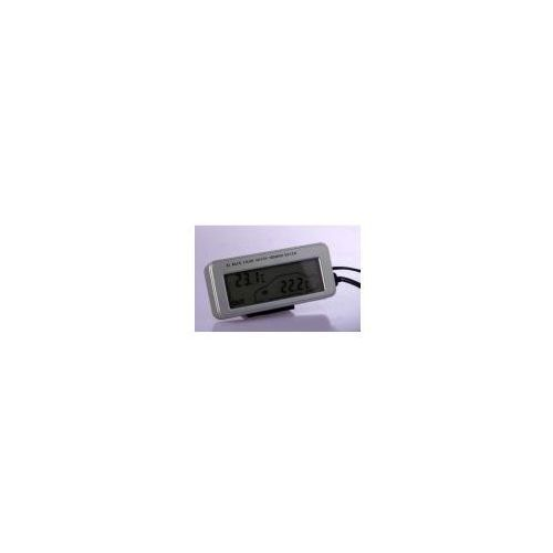 Elektroniczny Termometr Samochodowy + Bateria + Ładowarka.