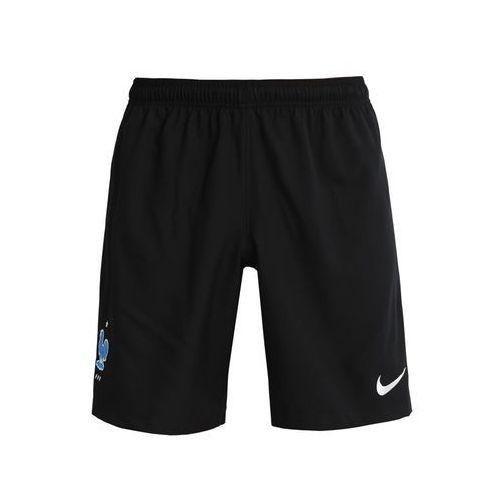 Nike Performance FFF FRANKREICH STADIUM Krótkie spodenki sportowe black/metallic silver (0886737013397)