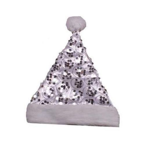 Gama ewa kraszek Czapka śnieżynki cekinowa 30 x 43 cm - ozdoby i dekoracje świąteczne