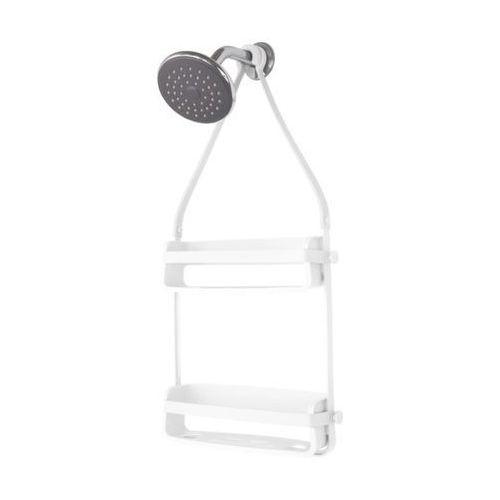 Umbra - flex shower caddy półka pod prysznic biała