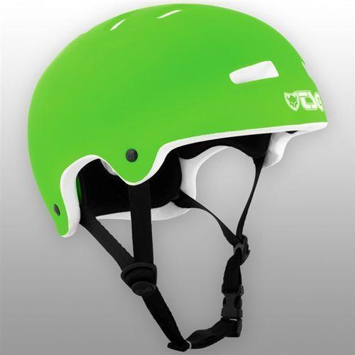 Kask - superlight solid color flat lime green (385) marki Tsg