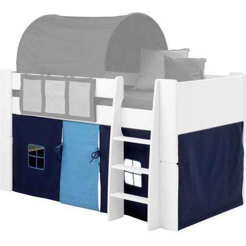 for kids - zasłonka do łóżka w kolorze niebieskim marki Steens