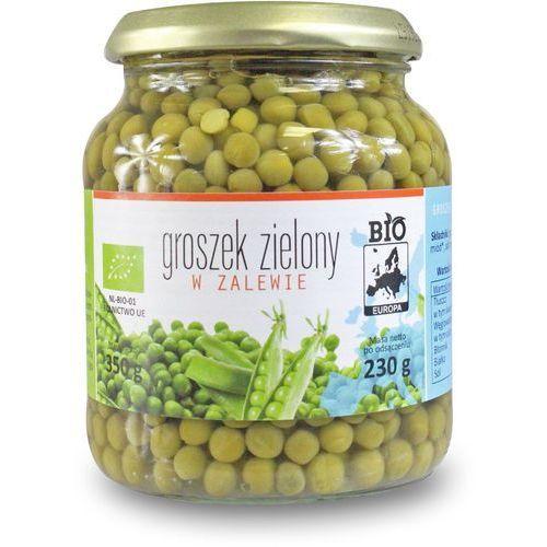Bio europa (strączkowe, kukurydza w puszkach, miód Groszek zielony w zalewie w słoiku bio 350 g (230 g) - bio europa (5902175866076)