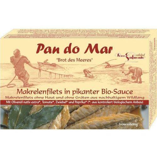 Filety z makreli w pikantnym sosie 480g bio marki Pan do mar