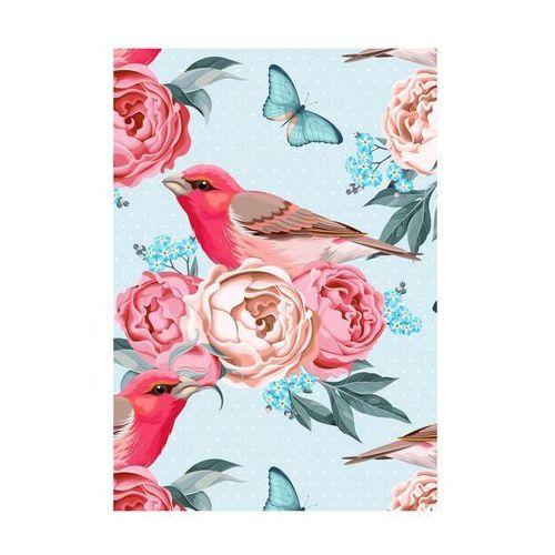 Kanwa ARTCANVAS BIRD IN FLOWERS 70 x 100 cm (5901698545826)