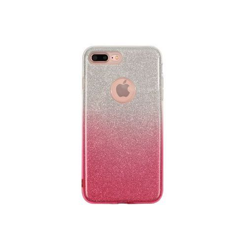 Apple iphone 8 plus - etui na telefon forcell shining - różowe ombre marki Forcell shining case