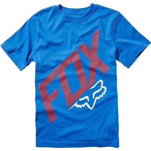 Koszulka - youth closed circuit ss tee true blue (188) rozmiar: yl marki Fox