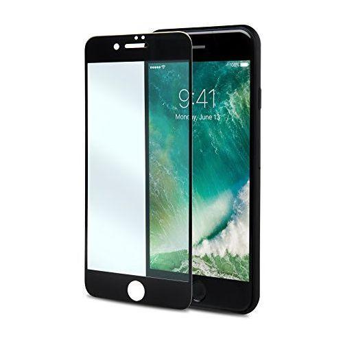 Celly Szkło hartowane  do iphone 7 plus czarna ramka glass801bk (8021735721369)