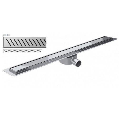 Odpływ liniowy slim zonda premium 60 cm wps600zo marki Wiper