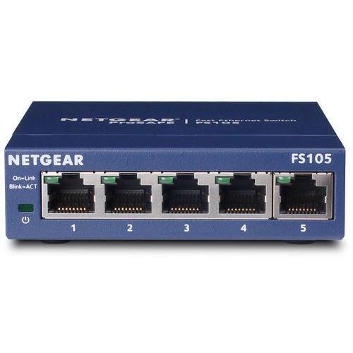 Przełącznik niezarządzalny  fs105 marki Netgear