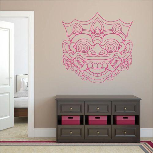 Sablon na ścianę maska 2096 marki Wally - piękno dekoracji