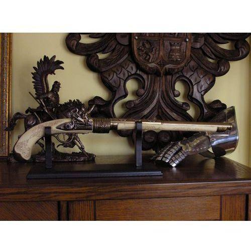 Unikatowy pojedynkowy pistolet skałkowy z xviiiw (k8791m) marki Hiszpania