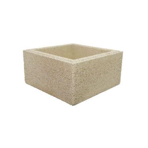 Bloczek słupkowy 40.3 x 40.3 x 20 cm betonowy BESKID JONIEC