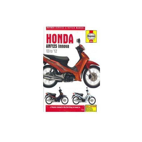 Honda ANF125 Innova Service and Repair Manual, Coombs, Matthew