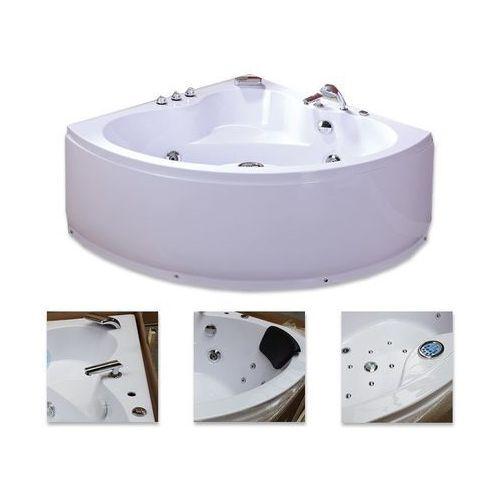Wanna system hydromasaży 135x135 Coro + podgrzewacz wody