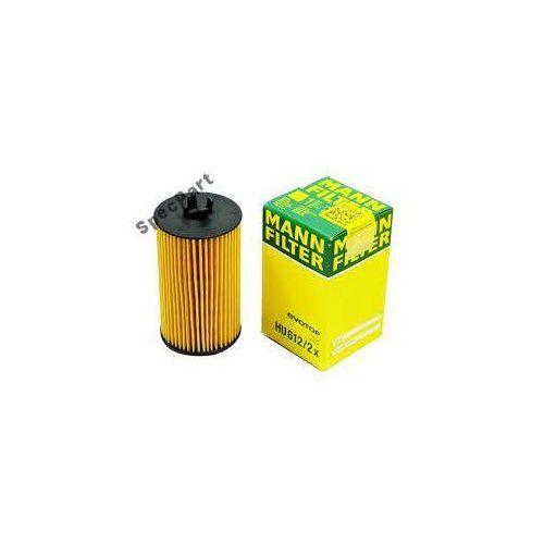 Filtr oleju mann hu612/2x (oe648/6a) opel fiat marki Mann filter