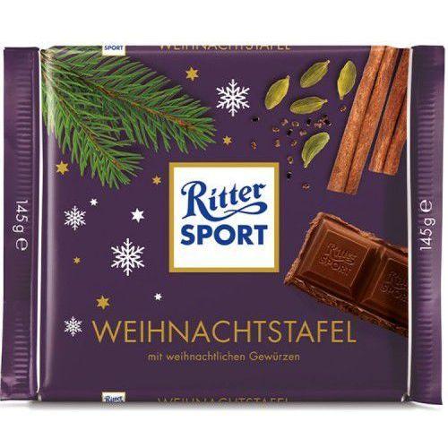 Czekolada Ritter Sport Christmas 145g (4000417050908)