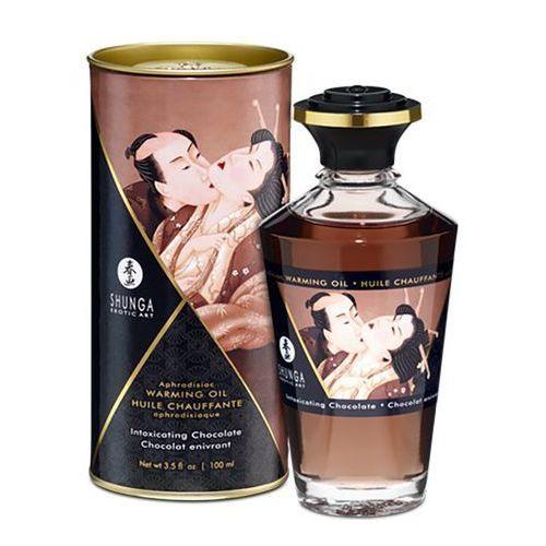 Olejek do masażu - aphrodisiac warming oil chocolate 100 ml marki Shunga