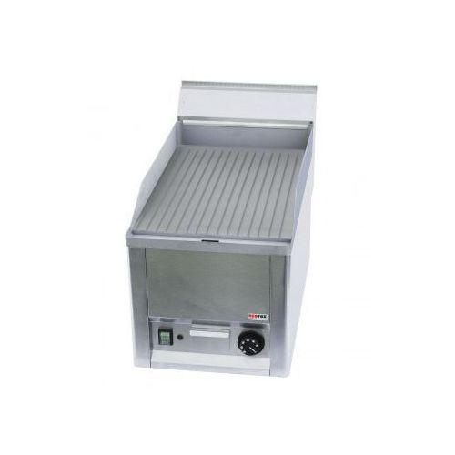 Płyta grilowa elektryczna ryflowana ftr 30 el marki Redfox