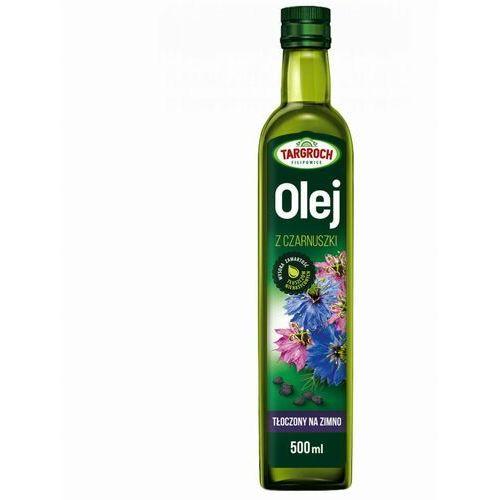 Olej z czarnuszki tłoczony na zimno, nierafinowany 500ml - Targroch (5903229005076)