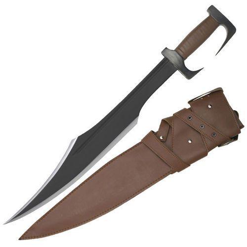 Czarny miecz spartański z pochwą marki Usa