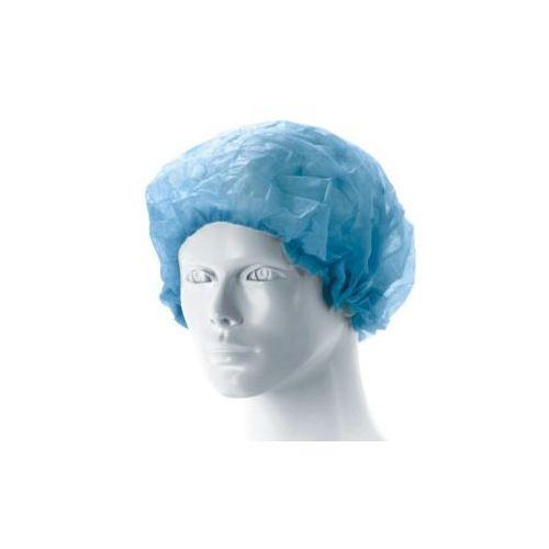 Czepek pielęgniarski MATODRESS, harmonijka,niebieski, niejałowy 100 szt., NM-981-MMMM-065