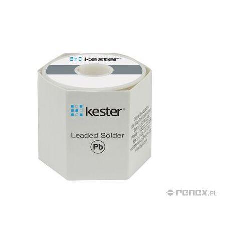 Ołowiowy drut lutowniczy sn63pb37, średnica: 1,0 mm, masa szpuli: 500g marki Kester