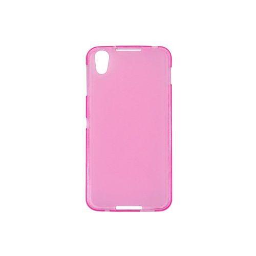 Blackberry DTEK50 - etui na telefon FLEXmat Case - różowy, kolor czarny