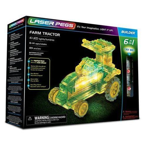 6 in 1 Farm Tractor - Laser Pegs
