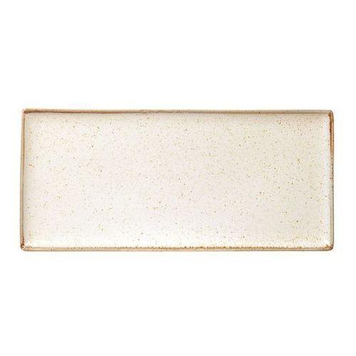 Porland - porcelana gastronomiczna Półmisek prostokątny sand