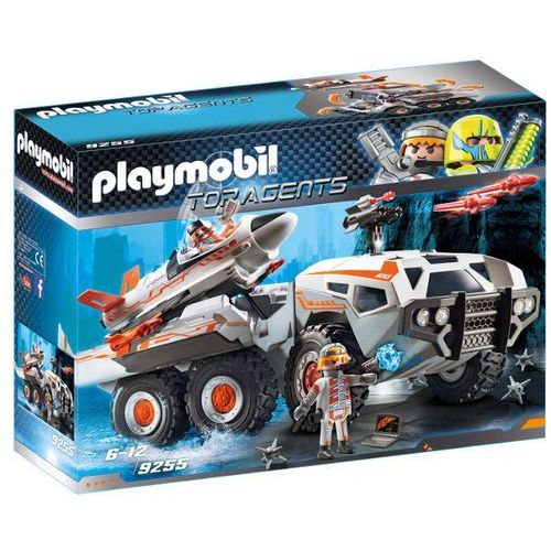 Playmobil City Action Spy Team Battle Truck 9255 Klocki Dla Dzieci